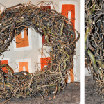DIY branch wreath