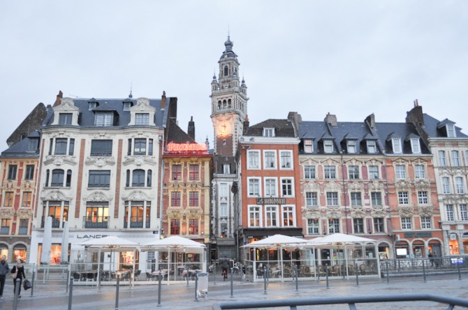 Grand Place in Lille, France