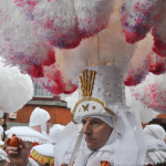 Shrove Tuesday Carnaval in Binche, Belgium