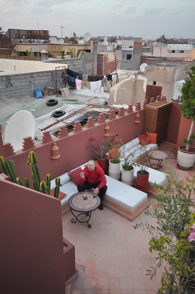 Marrakesh view from our riad