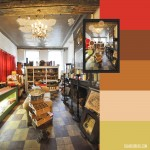 Color inspiration: A Bruges beer shop