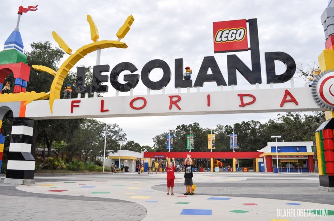 at Legoland Florida