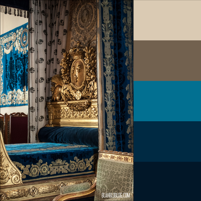 Color inspiration: The Louvre