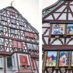 I need this: Life-size advent calendar in Bernkastel-Kues, Germany