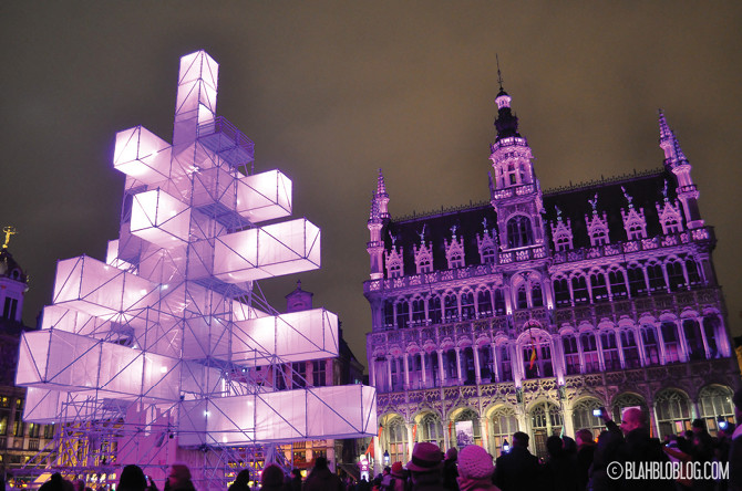 Grand Place at Christmas - Brussels, Belgium